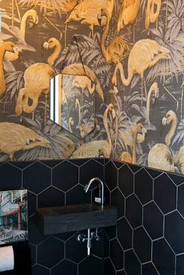 Wallpaper Keren Untuk Desain Kamar Mandi