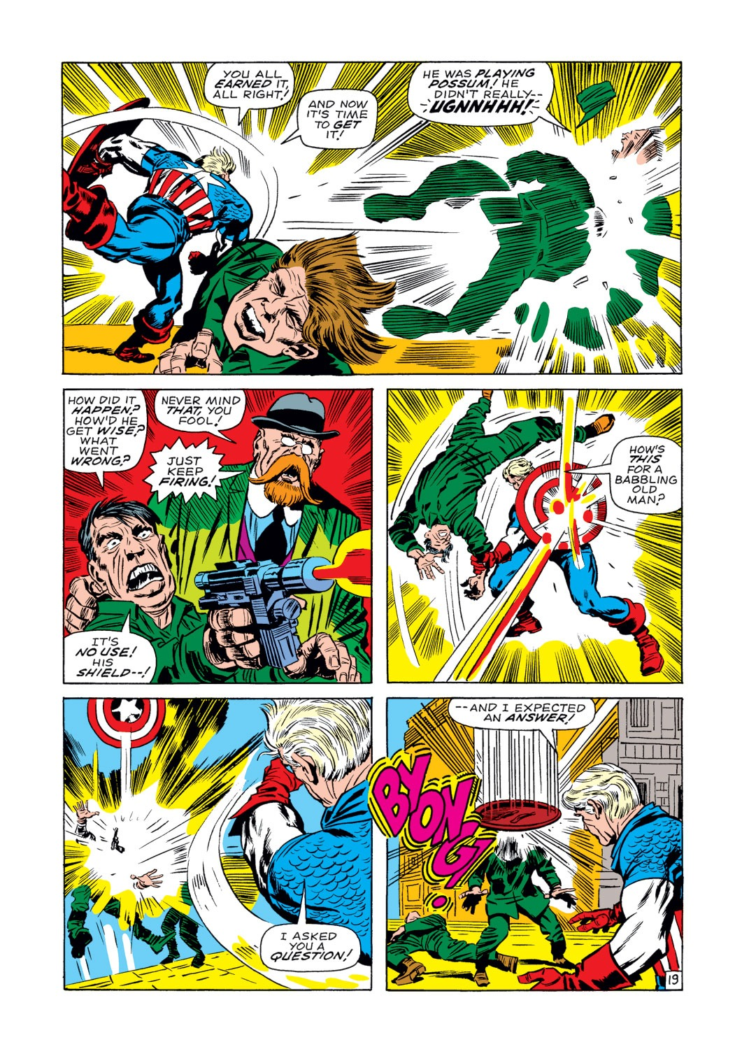 Captain America (1968) Issue #107 #21 - English 20