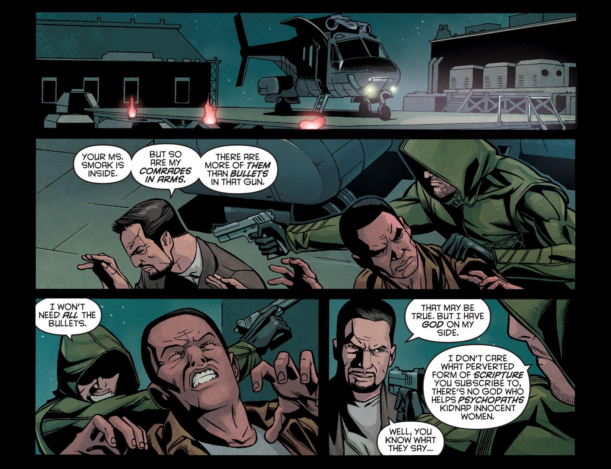 Read online Arrow: Season 2.5 [I] comic -  Issue #14 - 15