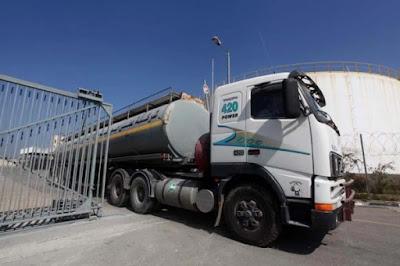 الإعلام الإسرائيلي: ستُضاعف كمية الوقود التي ستدخل غزة عبر كرم أبو سالم