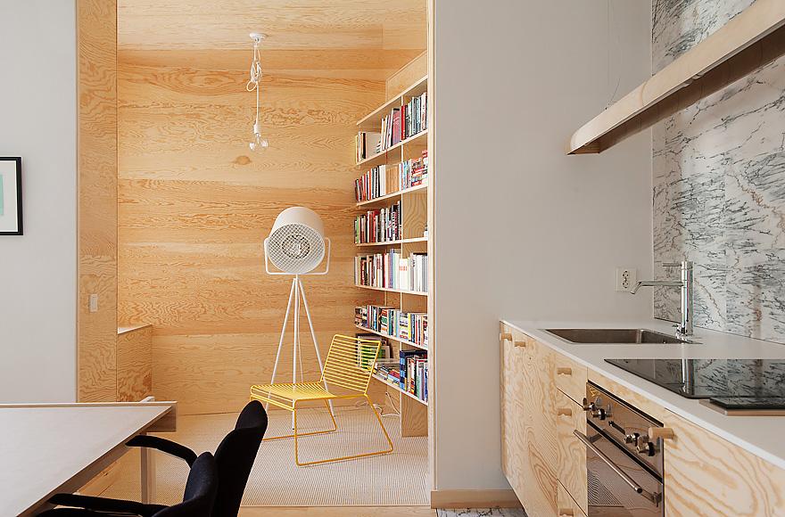 la maison d 39 anna g contreplaqu et marbre. Black Bedroom Furniture Sets. Home Design Ideas