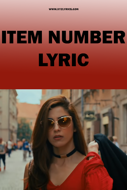 ITEM NUMBER LYRIC | Teefa In Trouble | Ali Zafar | Aima Baig | Video