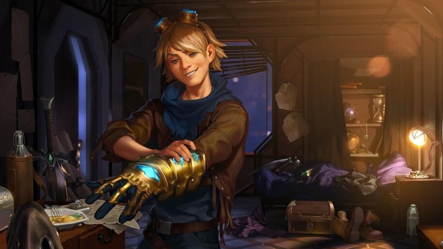Ezreal, LoL, Legends of Runeterra, 4K, #4.1541