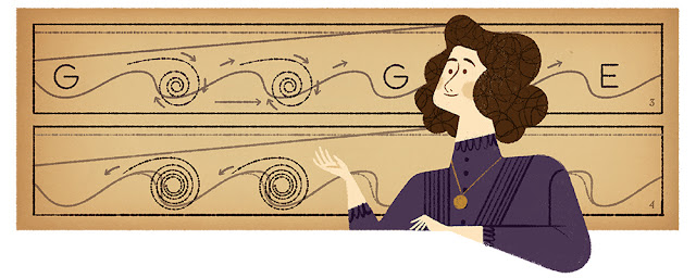Hertha Marks Ayrton'as 162nd birthday - Google Doodle