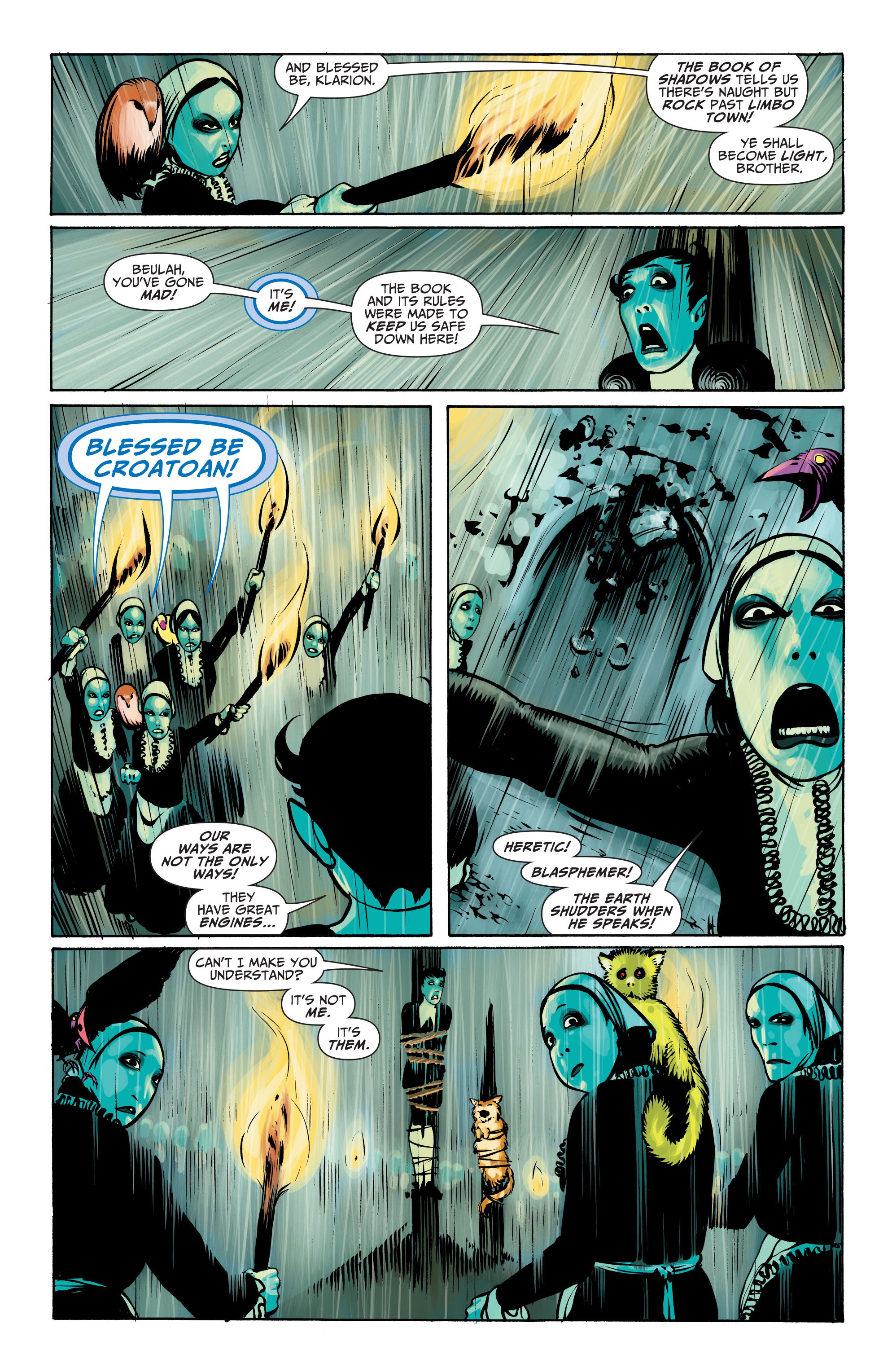 Read online Seven Soldiers: Klarion the Witch Boy comic -  Issue #4 - 4
