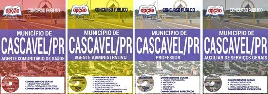 Apostila Concurso Prefeitura de Cascavel 2017