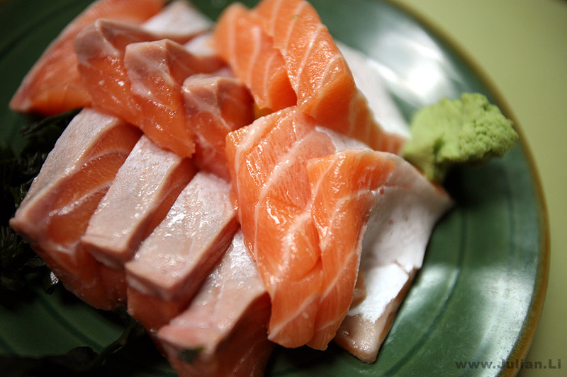 Evelyn Chang: Salmon is love,agree?