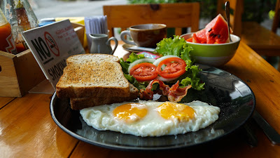 My breakfast at 29 Cafe