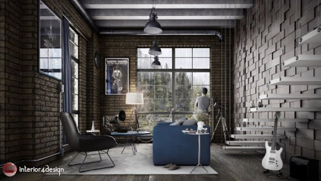 Industrial Style Decor 1