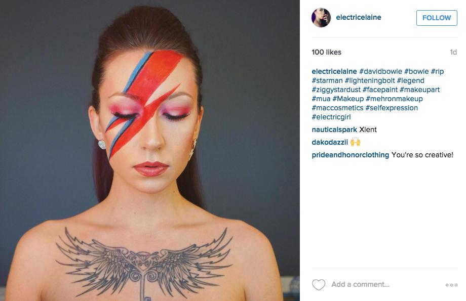 Ziggy Stardust Makeup You - Mugeek Vidalondon