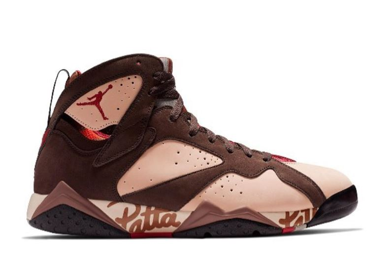 5e70c5755a THE SNEAKER ADDICT: Patta x Air Jordan 7 Retro Sneaker Collection ...