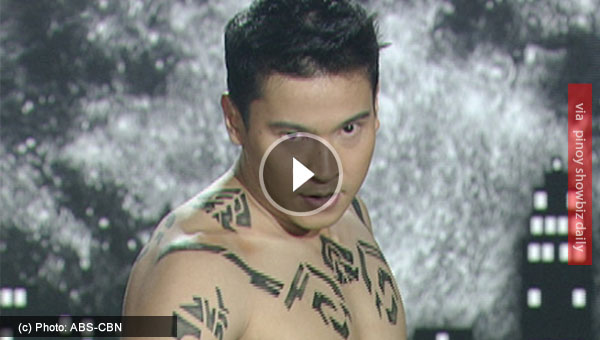 Watch: Enchong Dee's does daredevil dance performance in ASAP