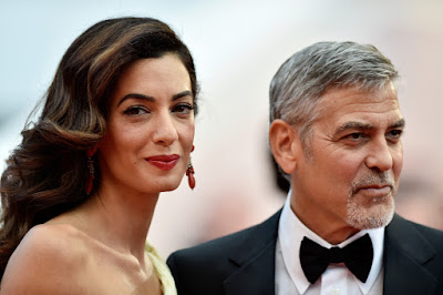 george amal clooney - George and Amal Clooney welcome twins Ella and Alexander
