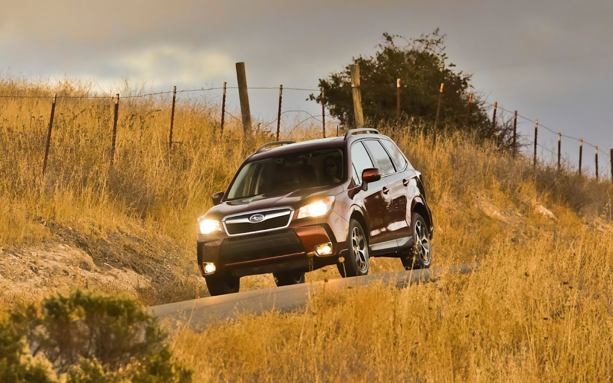 2014 Subaru Forester Widescreen HD Wallpaper 4