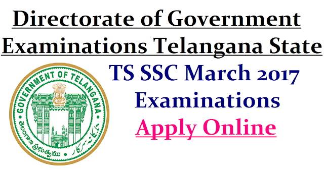 TS SSC March 2017 Public Examinations Apply Online @bsetelangana.org|SSC March 2017 Examinations Apply Online @bsetelangana.org | Directorate of Govt Examinations Telangana State has Instructed all Headmasters of High Schools in Telangana to Enroll their SSC/10th class Students Online at www.bsetelangana.org/account/login.aspx to appear in SSC March 2017 Public Examinations | Online Application form for Filling Online for SSC Students those who are going to appear 10th Class Public Examinations in March 2017 in Telangana ssc-march-2017-public-examinations-apply-online-bsetelangana.org/2016/11/apply-online-bsetelanganaorg-for-ts-ssc-march-2017-public-examinations.html