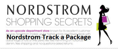 Nordstrom Track a Package