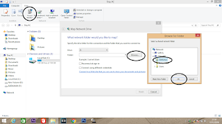 Mount file sharing ke drive tertentu di Windows