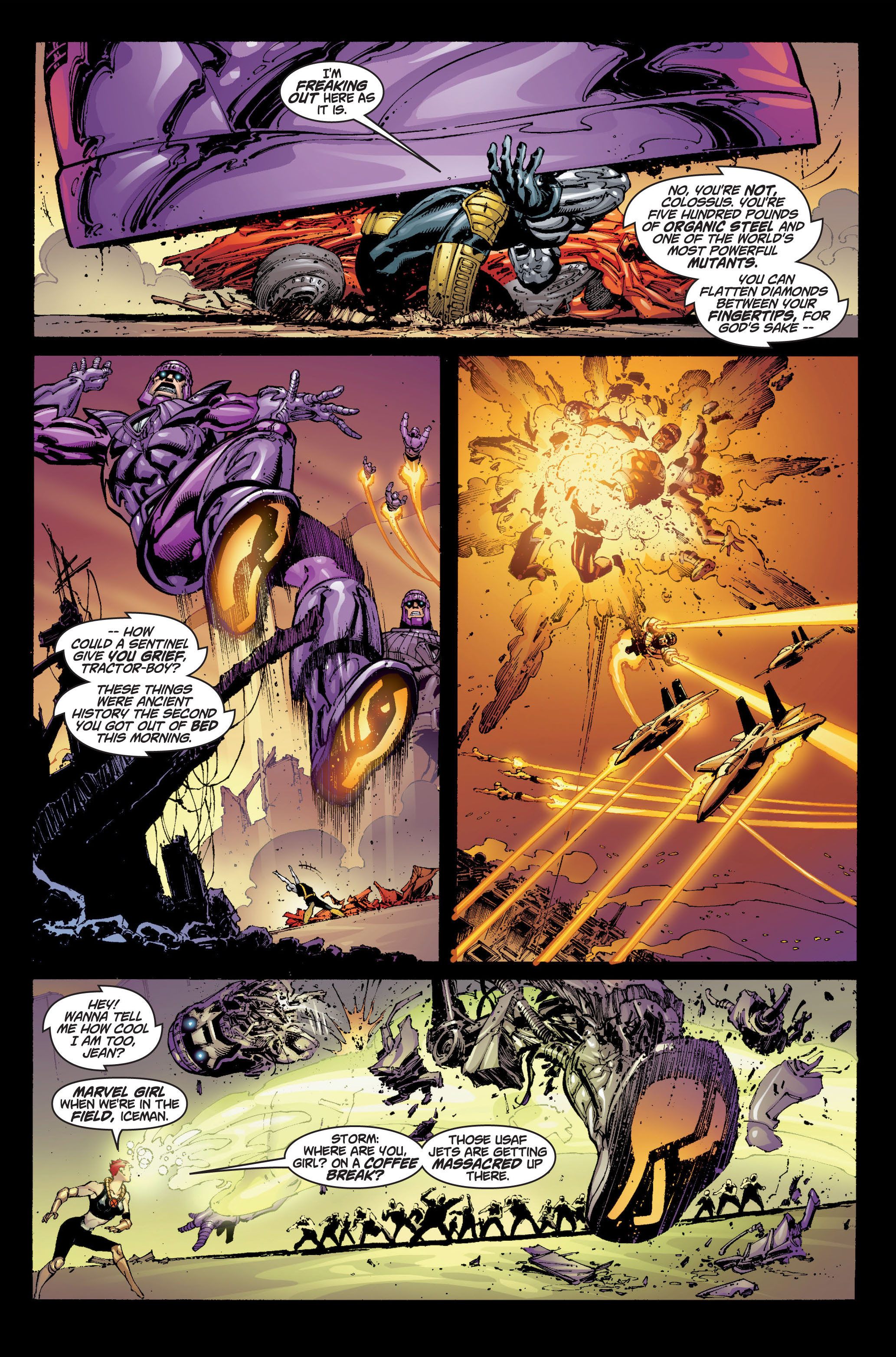 Read online Ultimate X-Men comic -  Issue #6 - 7