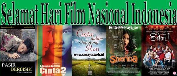 selamat hari film nasional Indonesia