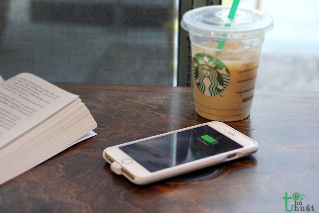 Không nên sử dụng ốp khi sạc iPhone