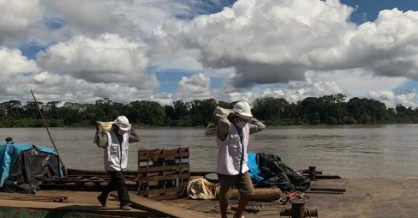 QALI WARMA: Programa social del Midis entrega más de 100 toneladas de alimentos a 7 mil ciudadanos indígenas en distrito de Andoas - www.qaliwarma.gob.pe
