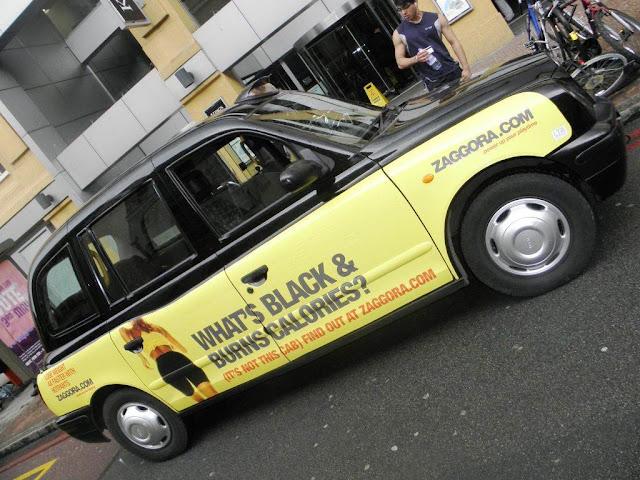 Zaggora Taxi advertising campaign