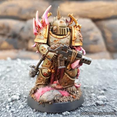 Mi primer Death Guard pintado