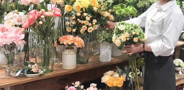 銀座店 お花屋さん