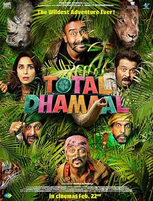 Poster Total Dhamaal 2019 Hindi HD 720p