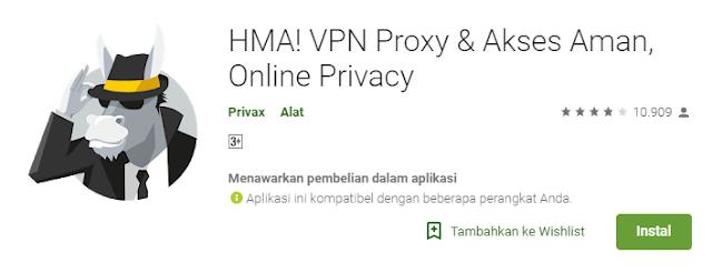 Download VPN HMA full free