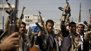 Teroris Syiah Houthi Menjarah Lembaga-lembaga Kenegaraan Yaman