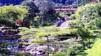Lokawisata Baturraden di Purwokerto.