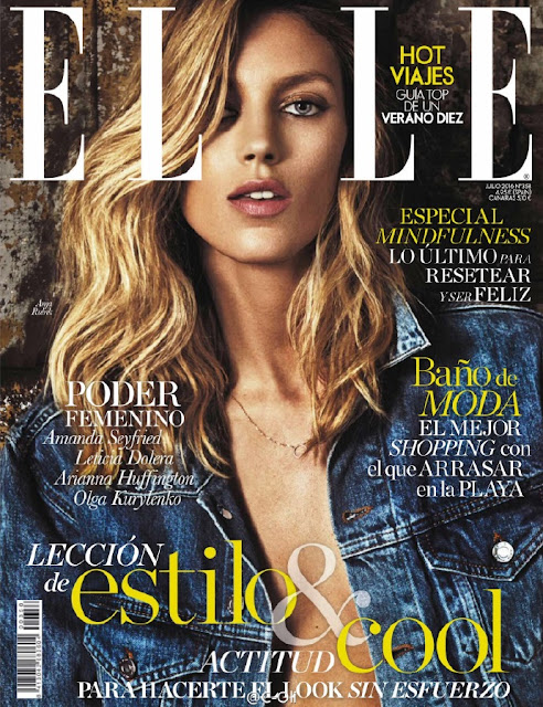Fashion Model, @ Anja Rubik - ELLE Spain, July 2016