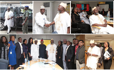 Minister Of Communications & Technology Visits MTN Head Office In Ikoyi, Lagos…PhotoS