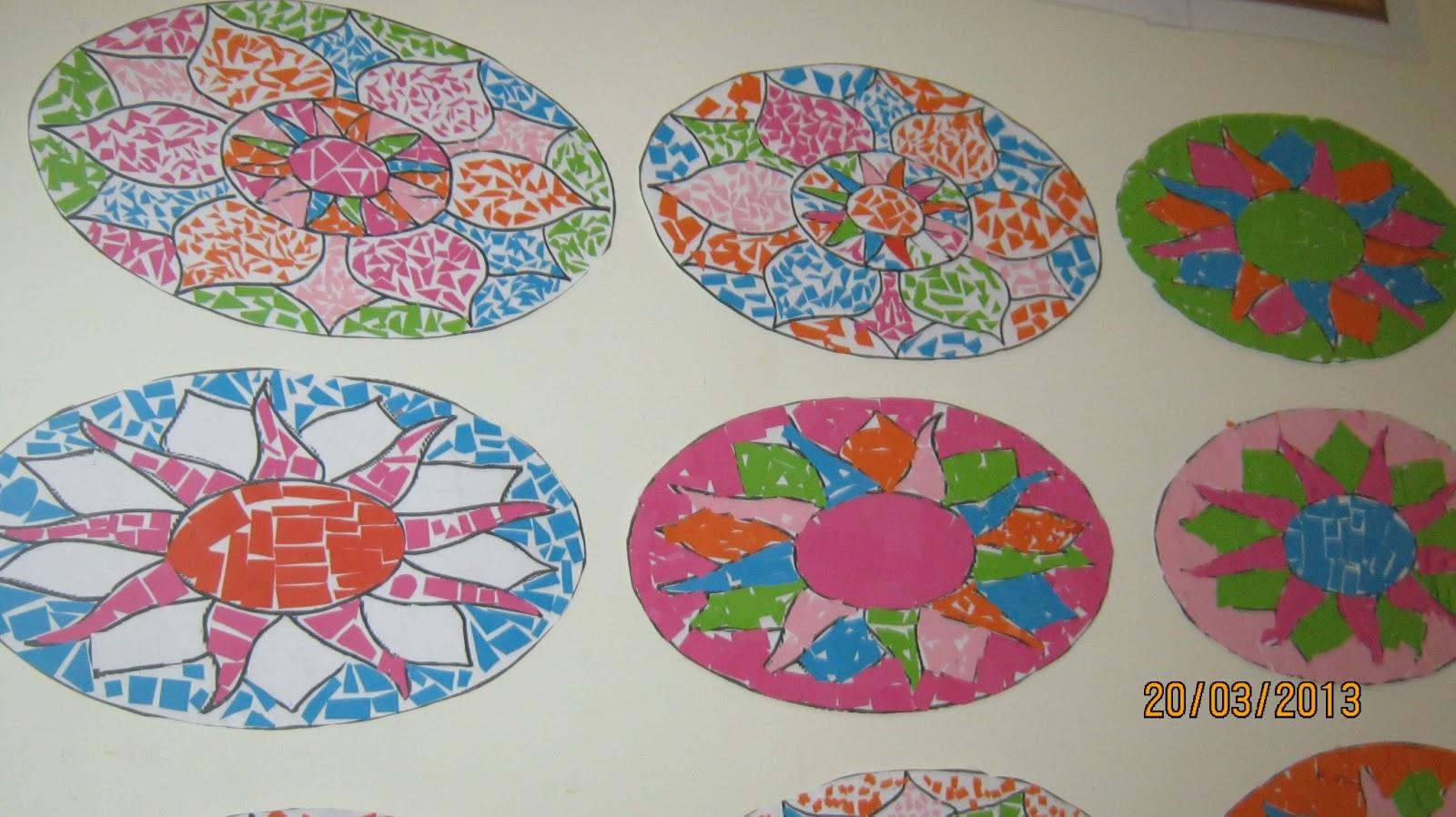 roman mosaic templates for kids - third and fourth class blog roman mosaic artwork
