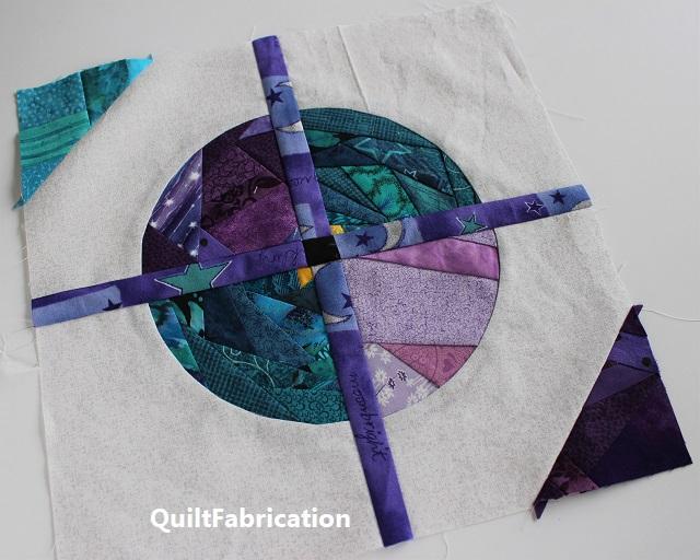Saxon block by QuiltFabrication