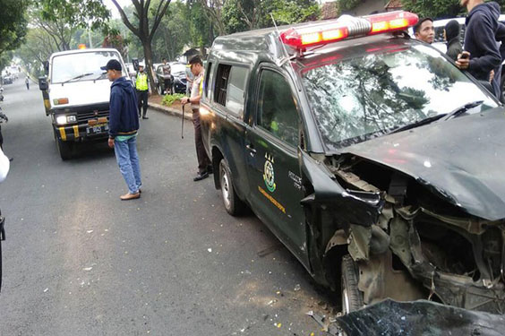 Napi Yang Membajak Mobil Kejari Berhasil di tangkap Kembali Polresta Depok