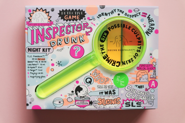 drunk elephant inspector drunk kit