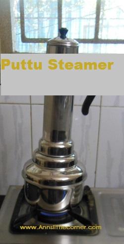 How to make Kappa Puttu- Step 5