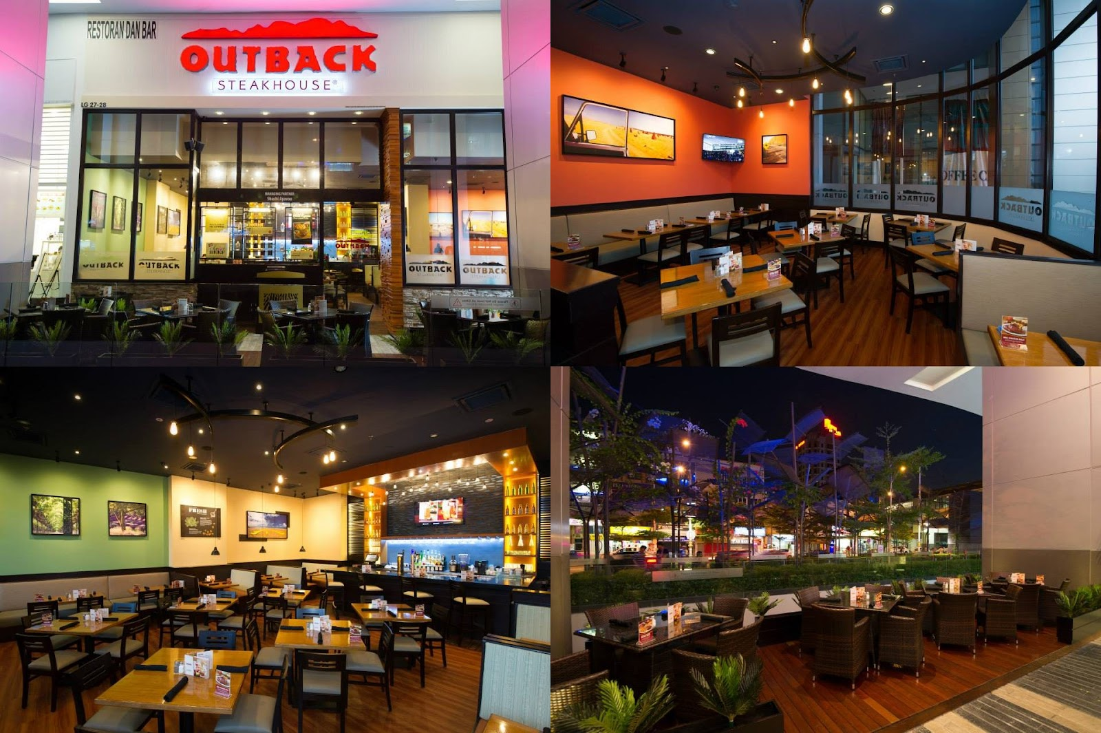 About Outback Steakhouse Shrimp, steak, and chicken from the barbie is better at Outback Steakhouse. Save on your next Aussie-inspired meal with Outback Steakhouse coupons.