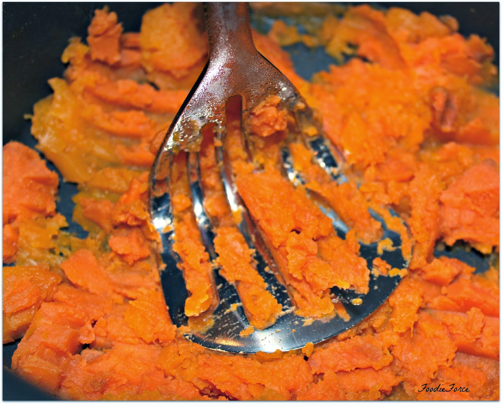Sweet potato and butternut squash mash