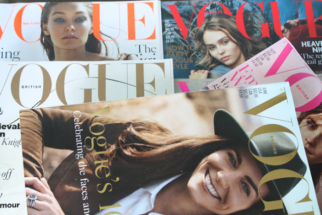 Favourite Issues of British Vogue