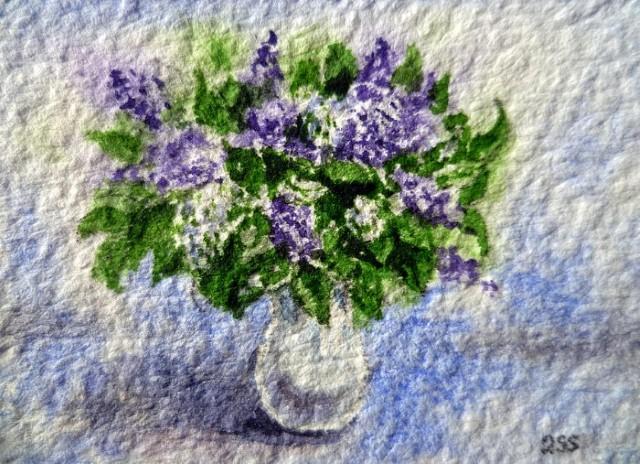 Цветы и цветочные натюрморты акварелью. Irina Sztukowski 17