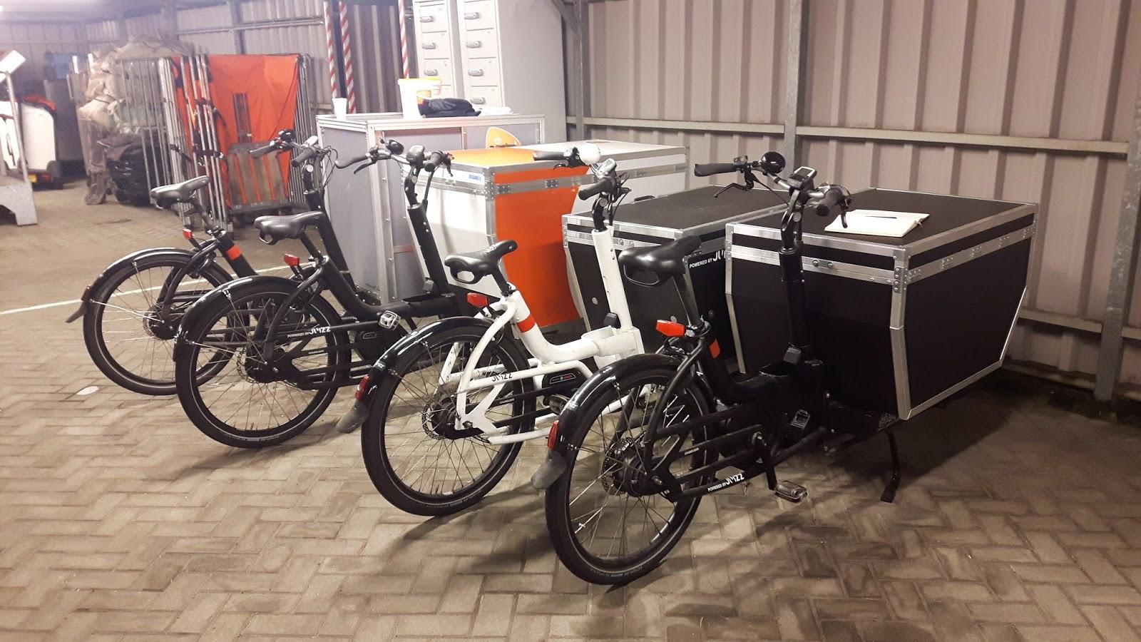 International Cargo Bike Festival Postnl 60 Vans For 60 Bikes