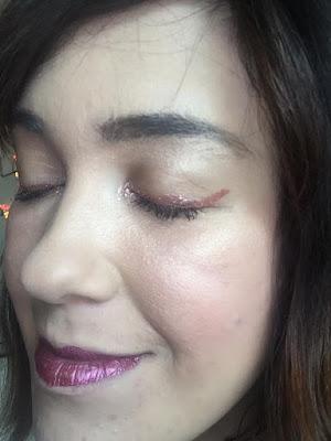revue eyeliner Rose Gold Tarte