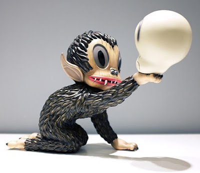 Ahwroo Polystone Sculpture by Gary Baseman x APPortfolio