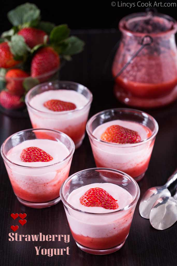 Strawberry Yogurt recipe