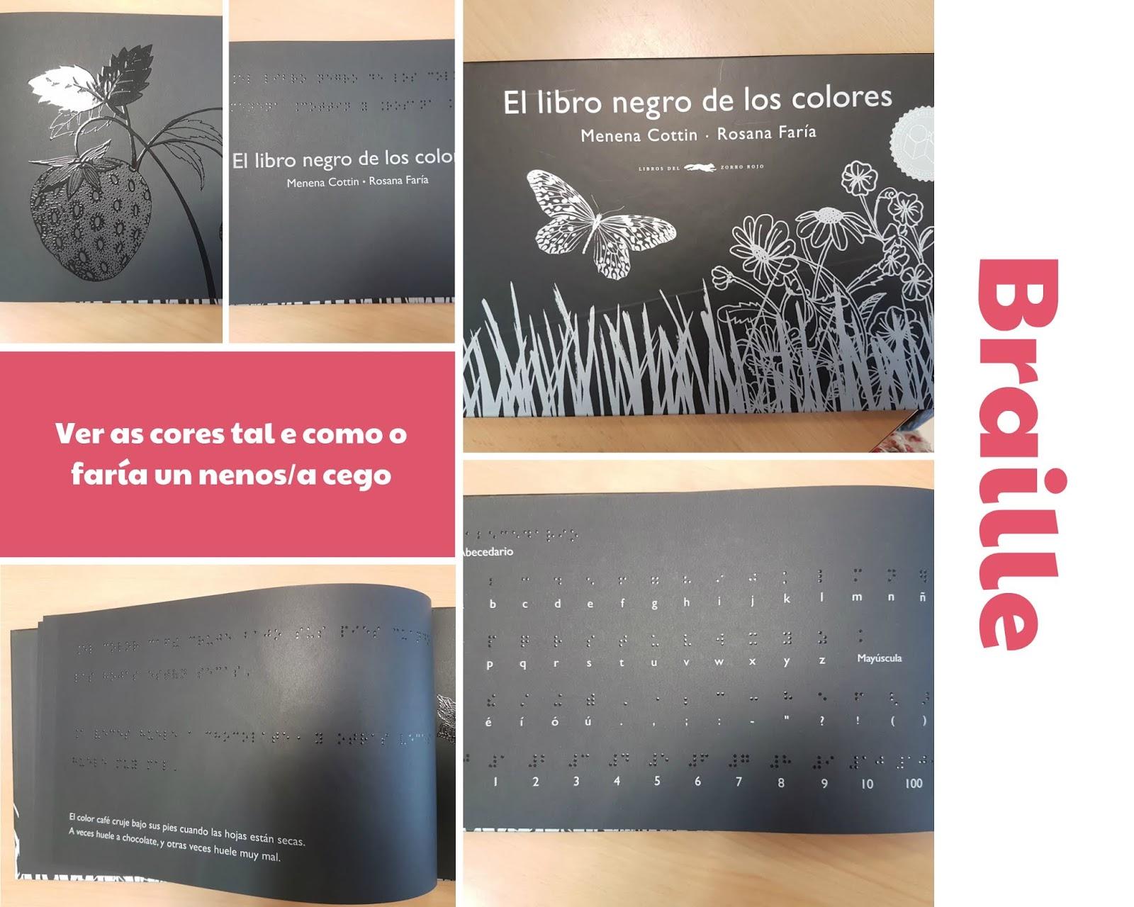 Reimaxinamos a escola: Aprender a ver: El libro negro de los colores
