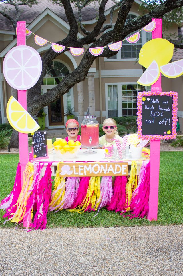 kids week the coolest lemonade stand design improvised On kids lemonade stand ideas