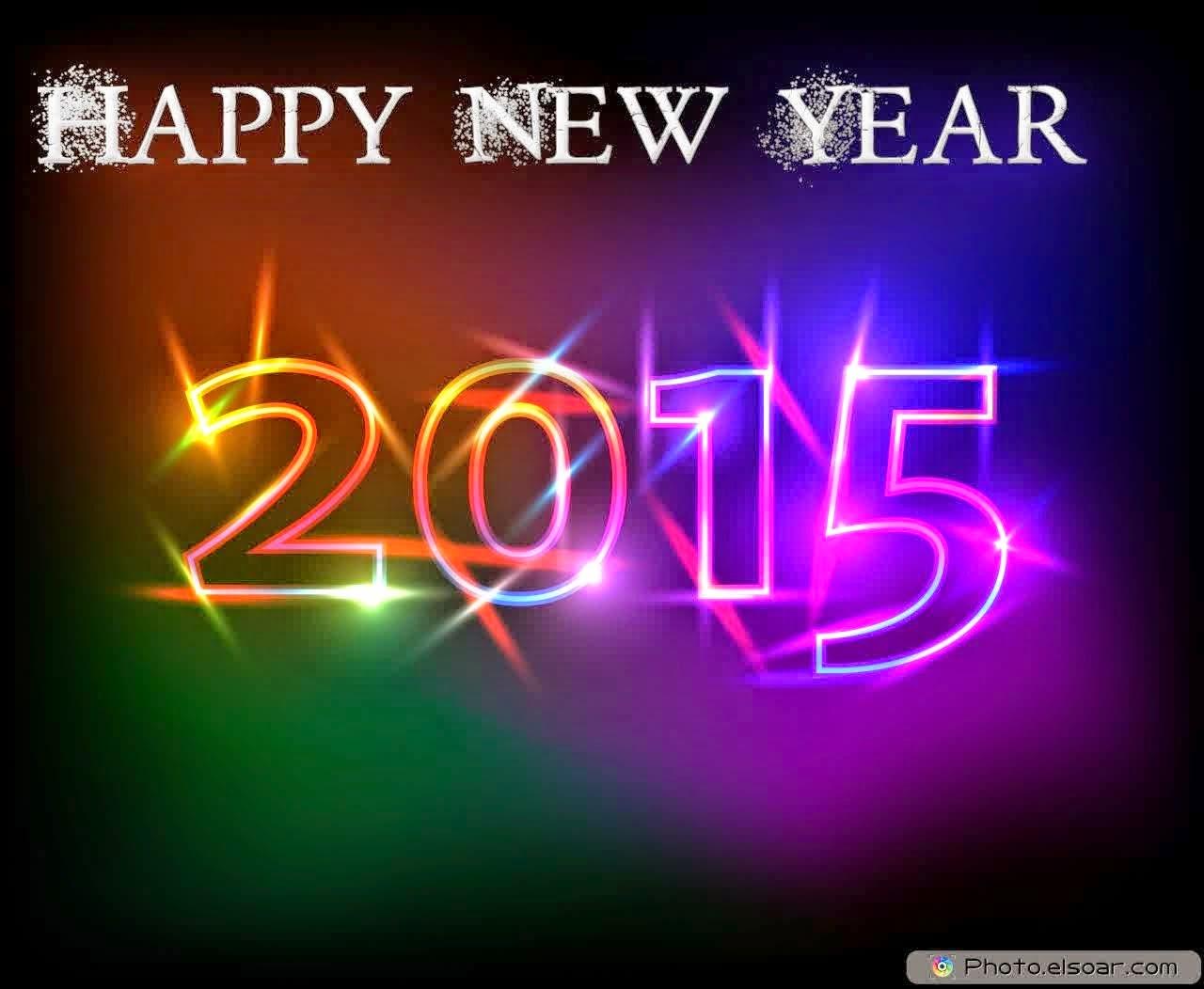 Download Gambar DP Ucapan Selamat Tahun Baru 2015 Ajiz Mantap